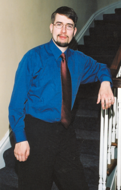 Picture of myself taken at a family function in Kingston Ontario, 2002